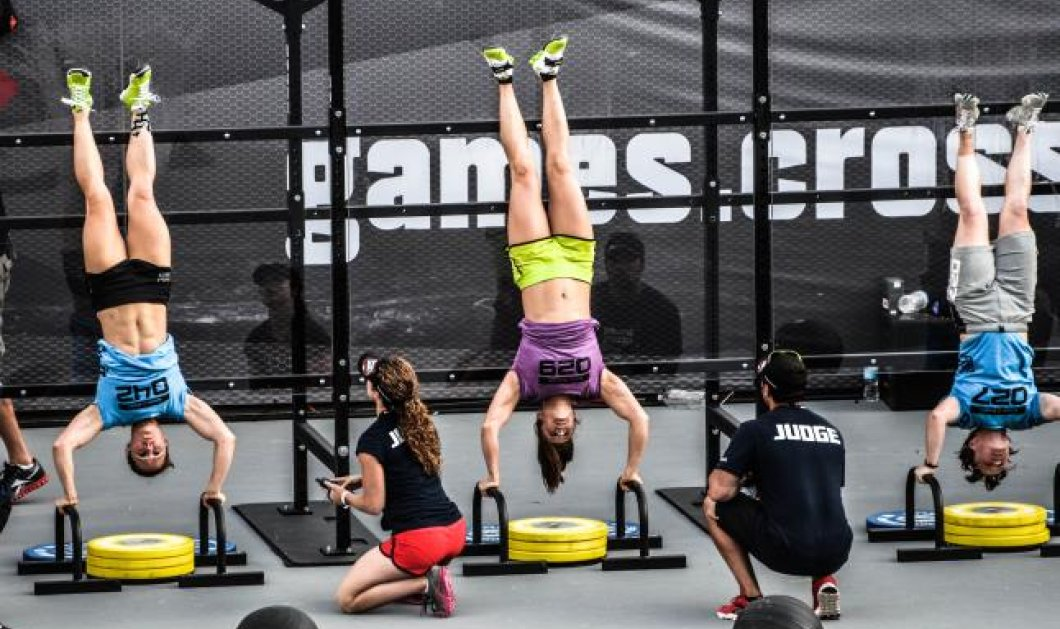 CrossFit - Η νέα αποτελεσματική άσκηση που αποτελείται από ασκήσεις της άρσης βαρών, της ενόργανης, του power lifting, του στίβου, της κωπηλασίας - Μοναδικός αντίπαλος ο χρόνος! (βίντεο)  - Κυρίως Φωτογραφία - Gallery - Video