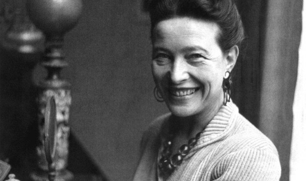 """Σιμόν ντε Μποβουάρ η Topwoman όλων των εποχών έγραφε: """"To να αγαπήσεις ένα άνδρα είναι τέχνη, να τον κρατήσεις επάγγελμα""""(ΦΩΤΟ-ΒΙΝΤΕΟ) - Κυρίως Φωτογραφία - Gallery - Video"""