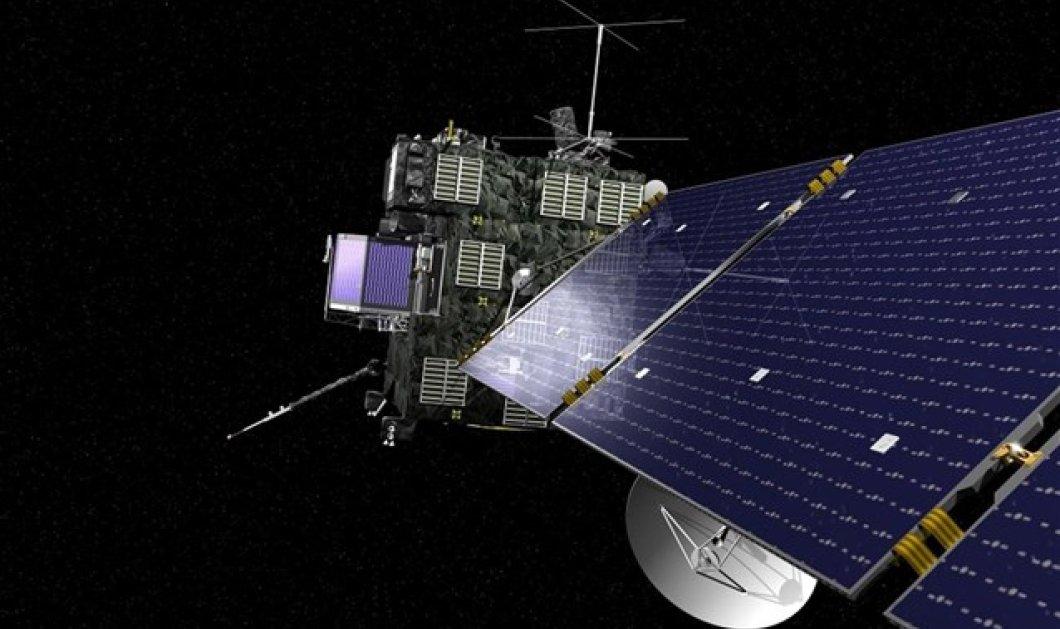 ''Ξύπνησε'' η Ροζέτα έπειτα από 31 μήνες - Το ευρωπαϊκό διαστημικό σκάφος σε 800 εκατομμύρια χιλιόμετρα από την Γη... κοιμόταν από το 2011! (βίντεο)  - Κυρίως Φωτογραφία - Gallery - Video