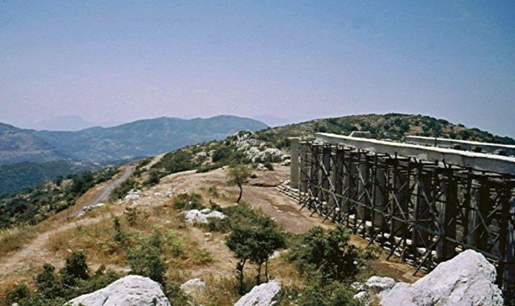 Απομονωμένος ο ιστορικός ναός του Επικούρειου Απόλλωνα στην Αρκαδία. Πολύ δύσκολη η πρόσβαση στο μνημείο!  - Κυρίως Φωτογραφία - Gallery - Video