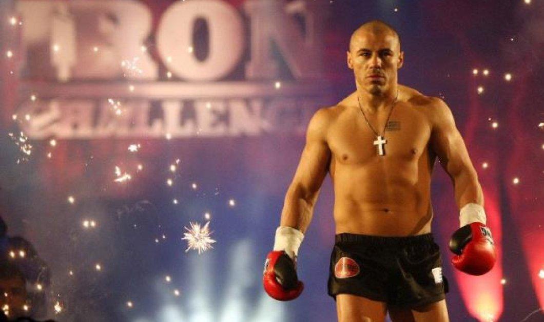 Ο παγκόσμιος πρωταθλητής μας kick boxing Μιχάλης Ζαμπίδης σε αναμέτρηση με το.... ''θηρίο'' Fadi Merza  - Κυρίως Φωτογραφία - Gallery - Video
