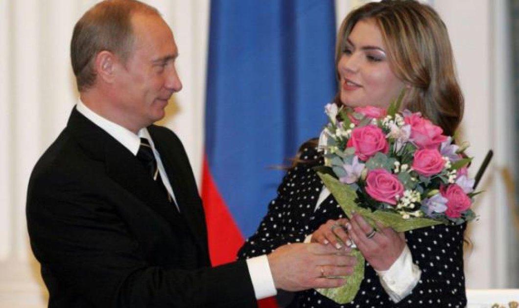 Η καλλονή Καμπάγιεβα δείχνει τη βέρα στο δεξί για να μας πει: ''Ναι παντρεύτηκα τον Πούτιν''! (Φωτό) - Κυρίως Φωτογραφία - Gallery - Video