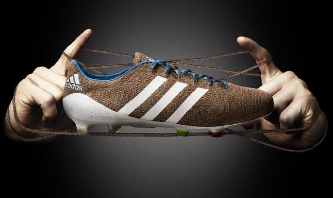 Τα πρώτα πλεκτά παπούτσια ποδοσφαίρου είναι γεγονός -Τα δημιούργησε η Adidas και κοστίζουν 300 ευρώ-Δείτε τα (φωτό) - Κυρίως Φωτογραφία - Gallery - Video