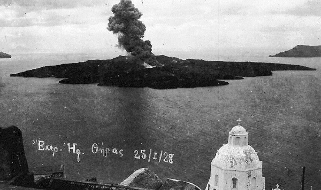 Το ηφαίστειο της Σαντορίνης εξερράγη τον 16ο αιώνα π.Χ. και όχι νωρίτερα - Η μεγάλη φυσική καταστροφή εκτιμάται ότι συνέβη πριν από 3.500 έως 3.600 χρόνια! - Κυρίως Φωτογραφία - Gallery - Video