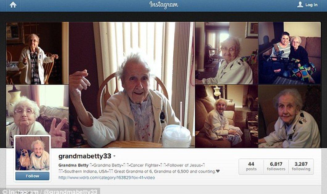 Story of the day: Μια σούπερ γιαγιά δίνει τη δική της μάχη με τον καρκίνο χαμογελώντας στο instagram μαζί με τους 162.000 φίλους της! (φωτό & βίντεο) - Κυρίως Φωτογραφία - Gallery - Video