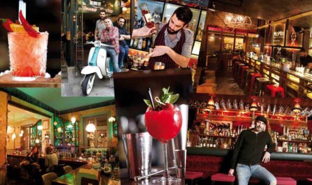 «Cocktail bars» - Η επανάσταση της μπάρας: Έχουμε τον χάρτη των καλύτερων μπαρ της πρωτεύουσας  - Κυρίως Φωτογραφία - Gallery - Video