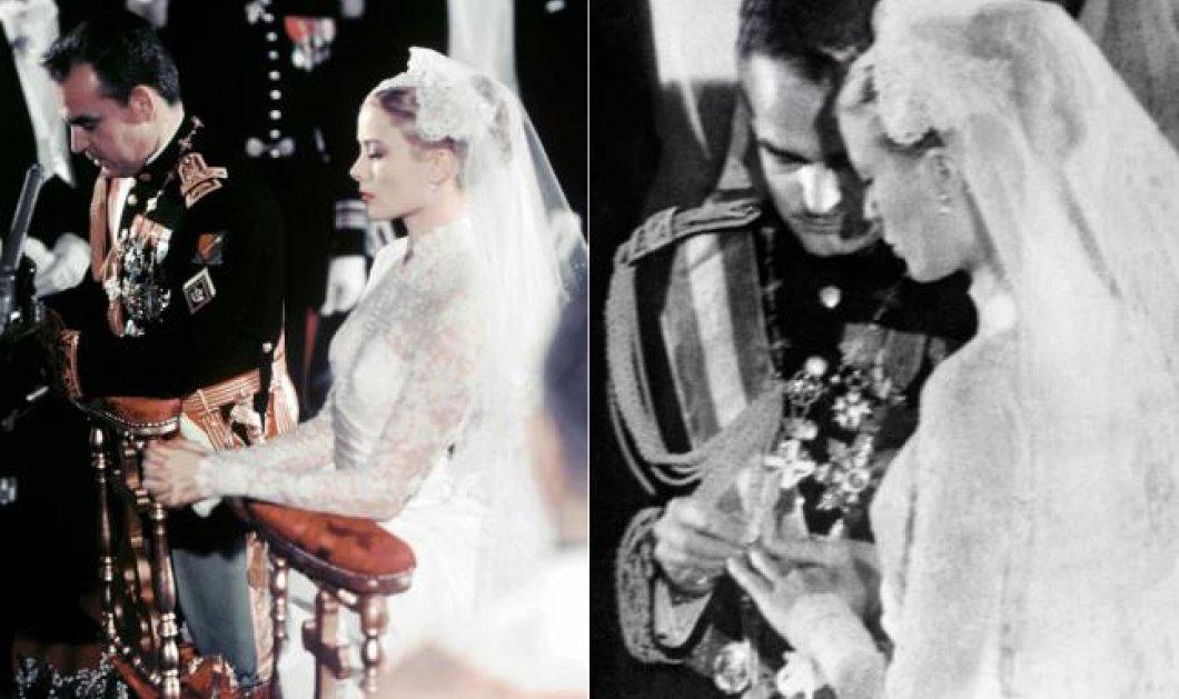 Ας ξεφυλλίσουμε το φωτογραφικό άλμπουμ ενός μυθικού γάμου της Γκρέις Κέλι και ρου Πρίγκιπα Ραινιέ-  58 χρόνια κλείνουν από την  ημέρα που η σταρ του Χόλυγουντ παντρεύτηκε τον πρίγκιπα της - Κυρίως Φωτογραφία - Gallery - Video