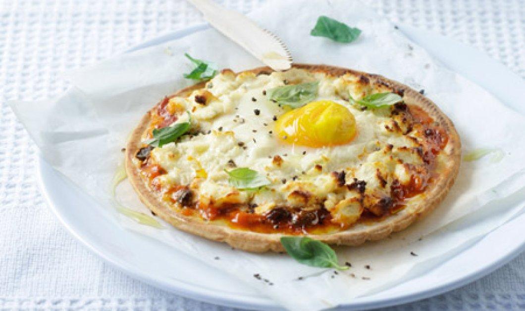 Μήπως πεινάσατε; Φτιάξτε στο πι και φι μια πεντανόστιμη & λαχταριστή ατομική πίτσα με αυγό!  - Κυρίως Φωτογραφία - Gallery - Video