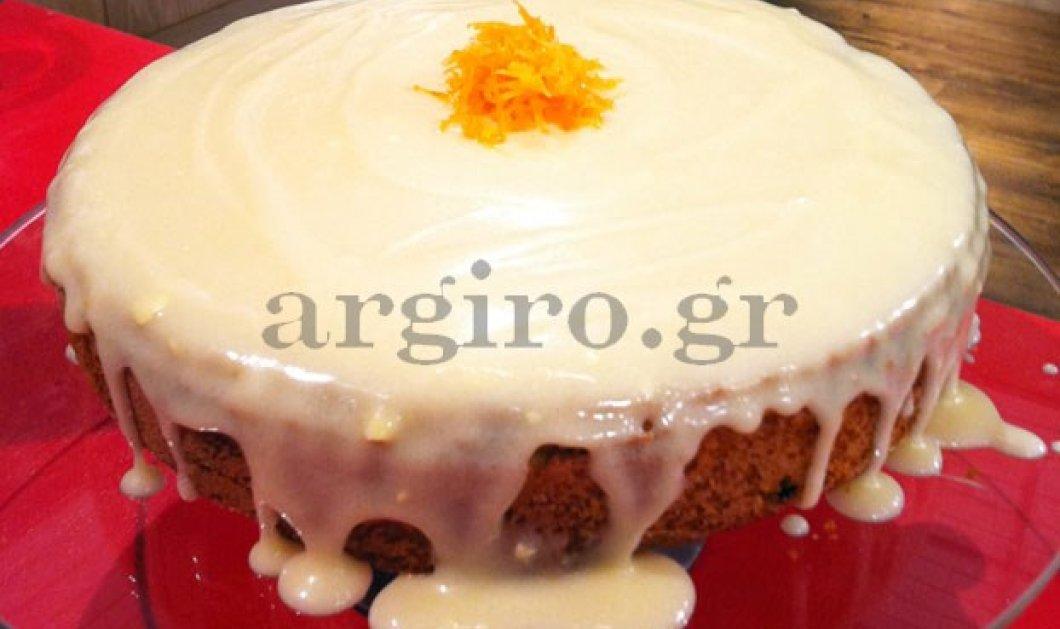 Κεϊκ φρούτων με frosting πορτοκαλιού-Ένα απίθανο γλυκό από την σεφ Αργυρώ Μπαρμπαρίγου! - Κυρίως Φωτογραφία - Gallery - Video