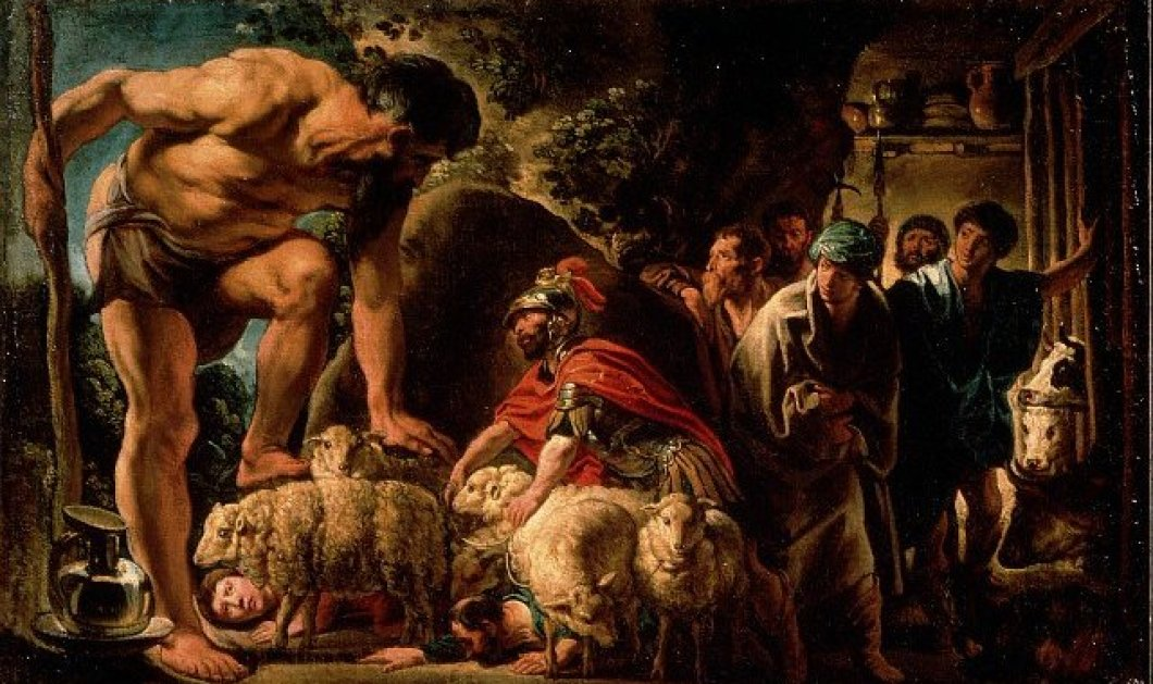 Επίκαιρος Greek Mythos με αλληγορίες: Όταν ο πολυμήχανος Οδυσσέας κοίμησε τον κύκλωπα Πολύφημο και τον άφησε τυφλό για να ξεγλιστρήσει έξω από τη σπηλιά δεμένος κάτω από τα πρόβατα! - Κυρίως Φωτογραφία - Gallery - Video
