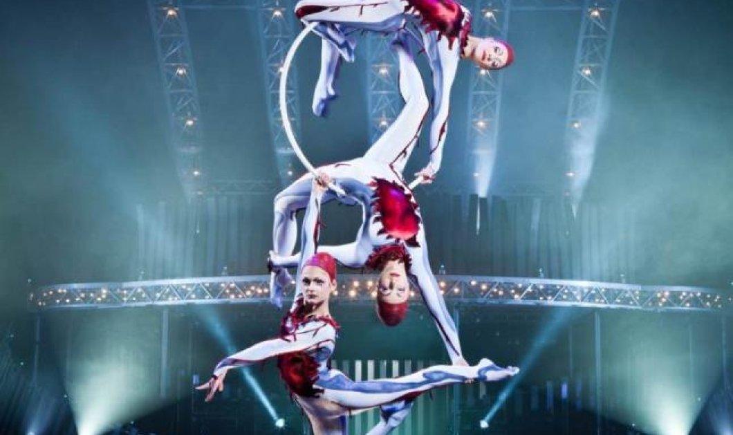 Δύο εισιτήρια δωρεάν για το υπερθέαμα Quidam του Cirque Du Soleil αποκλειστικά στον ΓΕΡΜΑΝΟ με το Sony XperiaTM T3! - Κυρίως Φωτογραφία - Gallery - Video