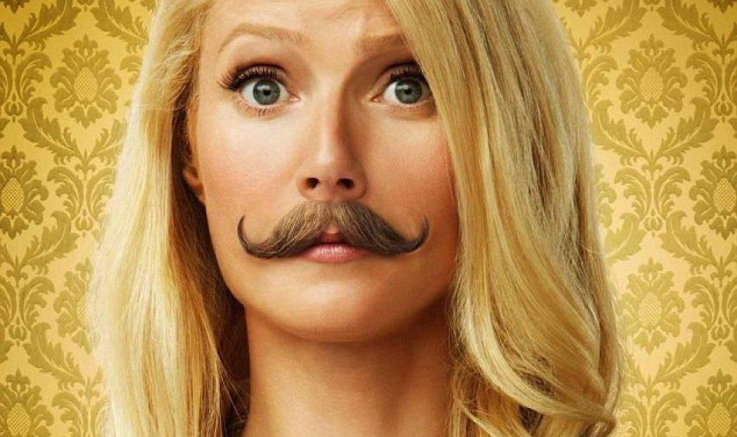 Γιατί η Γκουίνεθ Πάλτροου άφησε μουστάκι; (φωτό) - Κυρίως Φωτογραφία - Gallery - Video