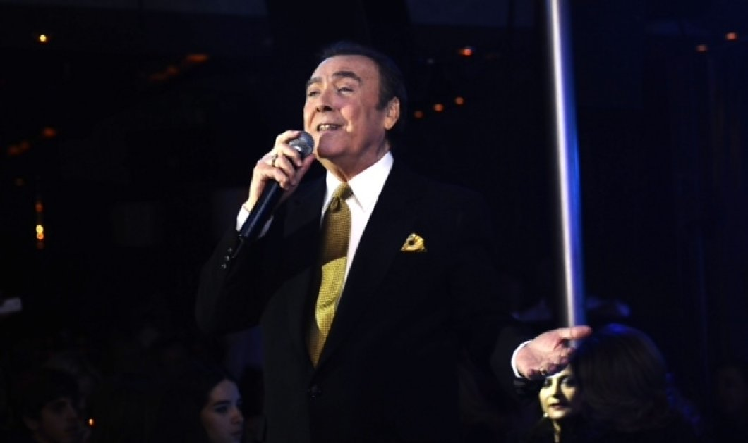 Ο Τόλης Βοσκόπουλος επιστρέφει και τραγουδάει στο Baraonda! Η μοντέρνα εμφάνιση του δημοφιλή ακούραστου ερμηνευτή! (φωτό) - Κυρίως Φωτογραφία - Gallery - Video