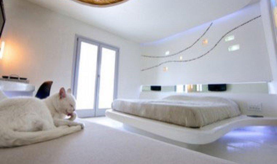 ''Cocoon'': τα πιο φουτουριστικά και πρωτοποριακά δωμάτια στη Μύκονο!! - Κυρίως Φωτογραφία - Gallery - Video