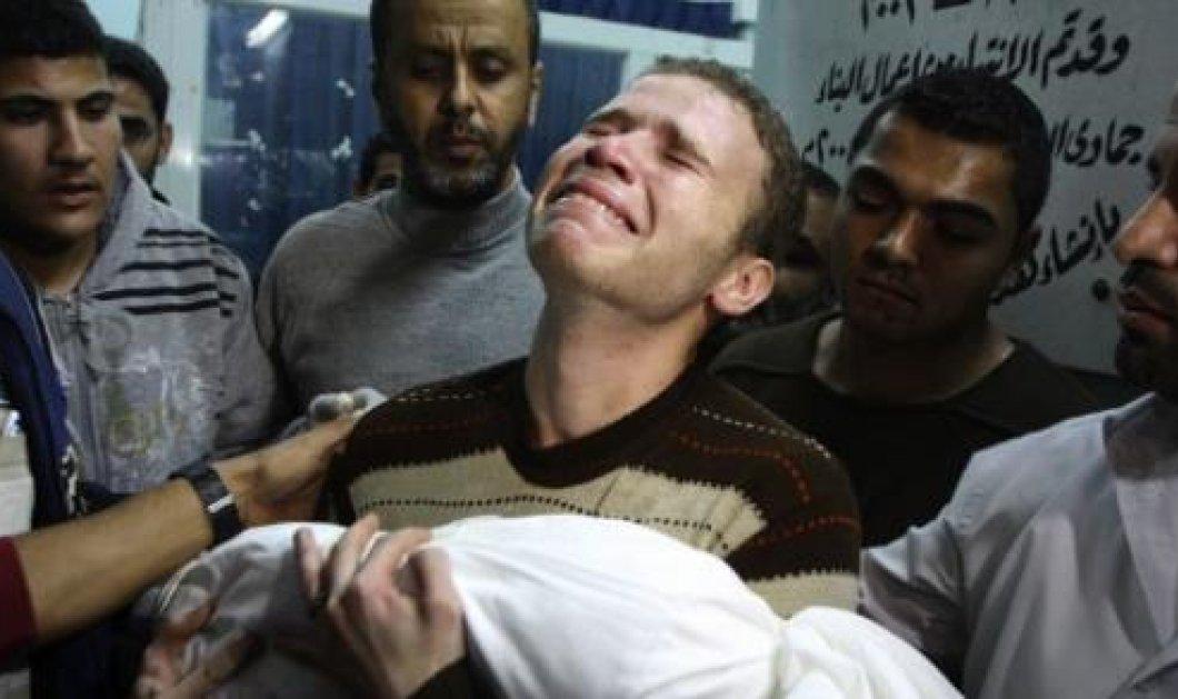 Ο σπαραγμός του δύστυχου πατέρα και δημοσιογράφου για το αδικοχαμένο βρέφος του, που σκοτώθηκε στη Γάζα - Κυρίως Φωτογραφία - Gallery - Video