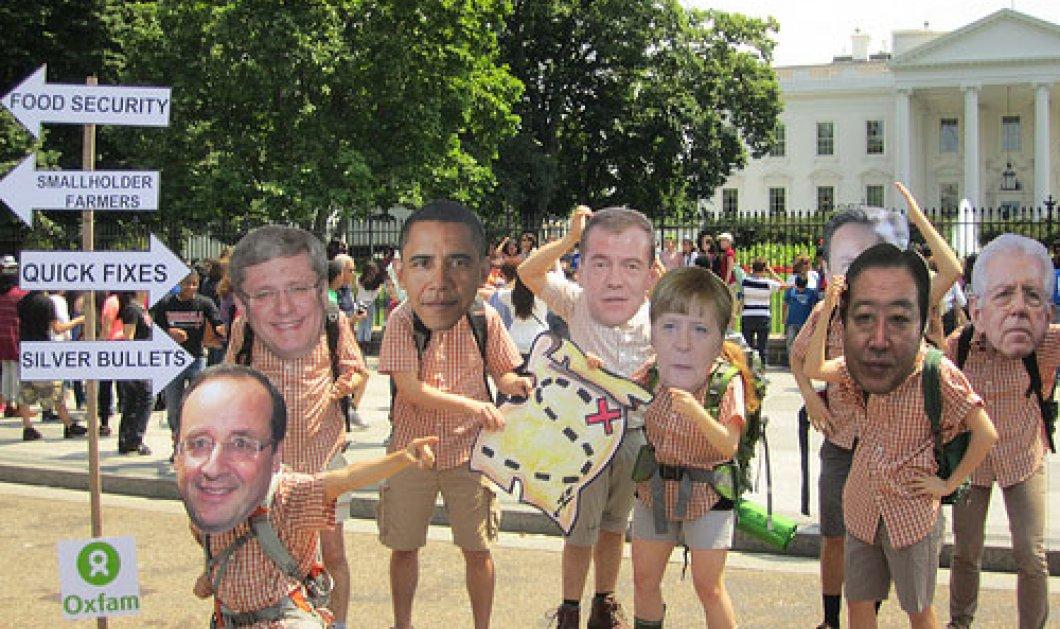 Οι αντιδράσεις για την σύνοδο του G8 - Δείτε τις φωτογραφίες! - Κυρίως Φωτογραφία - Gallery - Video