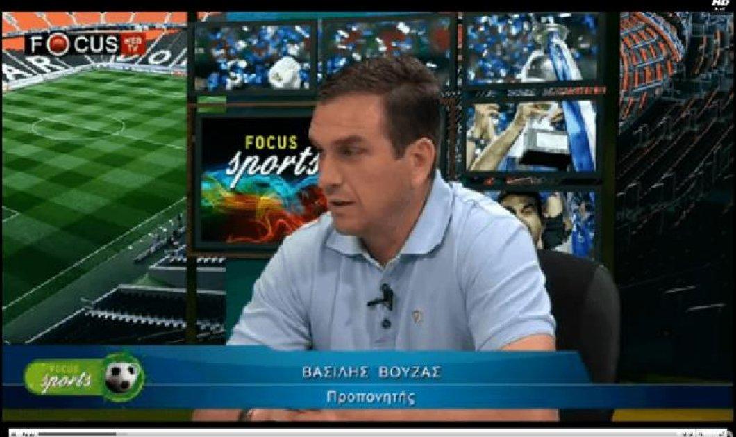 Βασίλης Βούζας: ''Έχει παραγίνει το κακό με τους προπονητές'' - Κυρίως Φωτογραφία - Gallery - Video