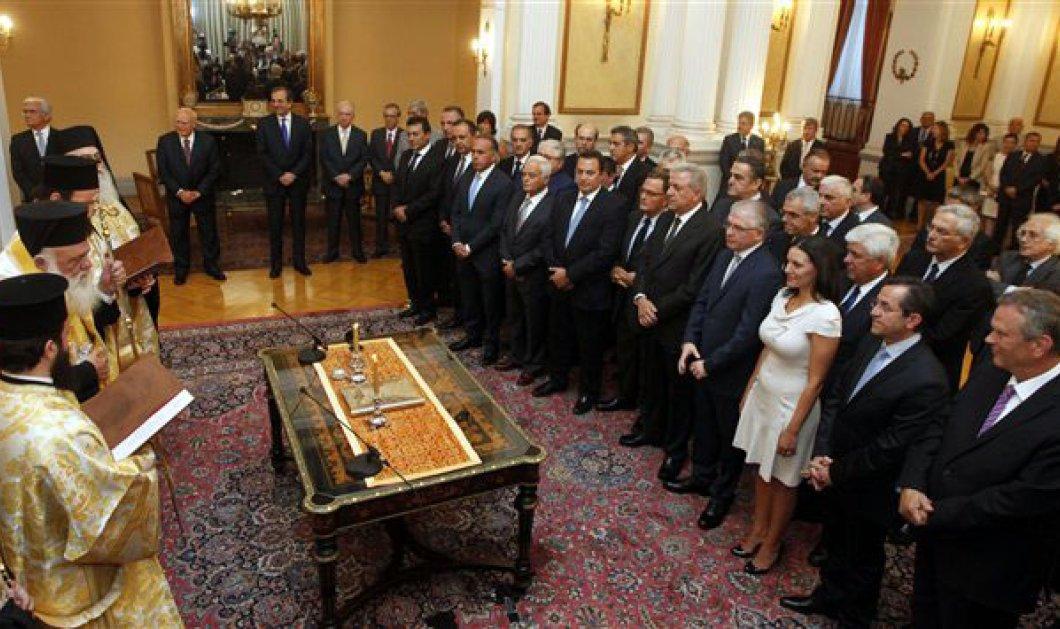Κατά 30% μειωμένοι οι μισθοί των Υπουργών! - Κυρίως Φωτογραφία - Gallery - Video