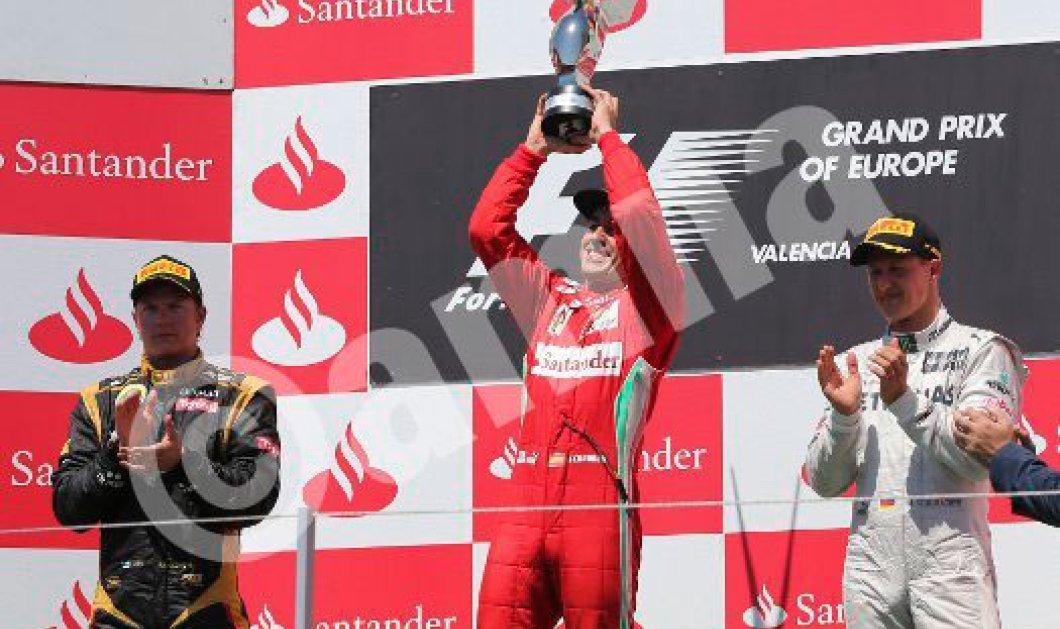 F1: Νικητής ο Αλόνσο στο γκραν πρι Ευρώπης! - Κυρίως Φωτογραφία - Gallery - Video