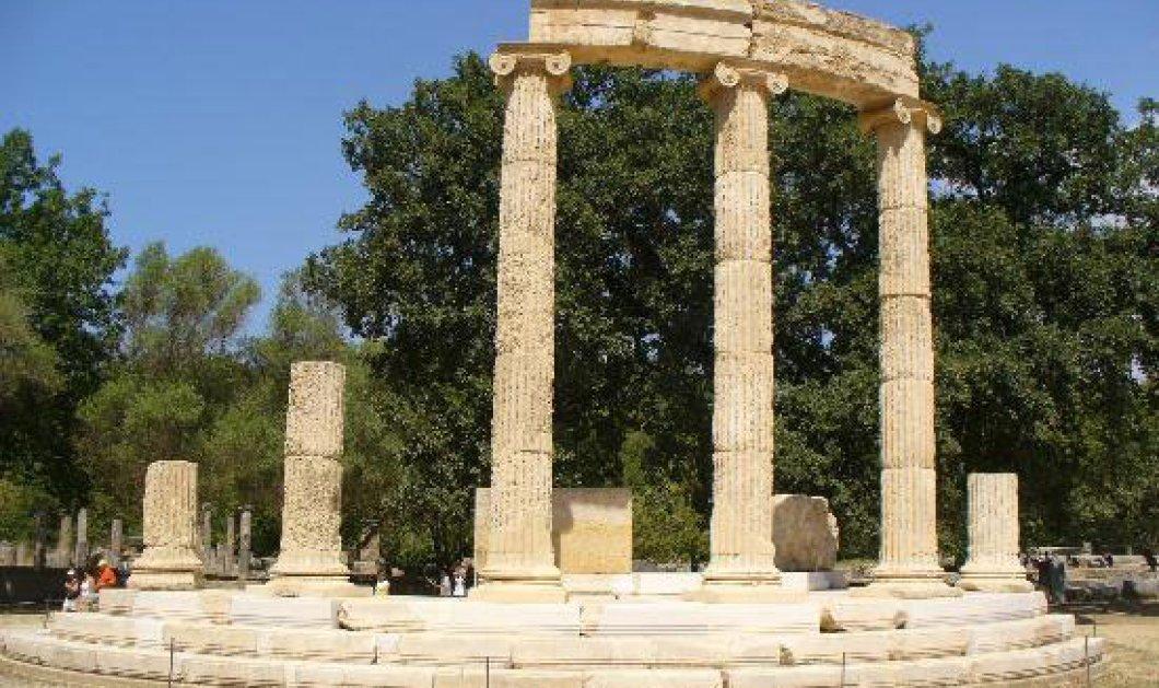 Τουρίστρια ξενύχτησε στον Αρχαιολογικό χώρο της Ολυμπίας ανενόχλητη γιατί ο νυχτοφύλακας δεν υπάρχει πια!! - Κυρίως Φωτογραφία - Gallery - Video