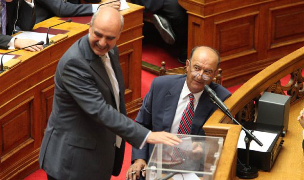 223 βουλευτές στήριξαν τον Βαγγέλη Μεϊμαράκη για Πρόεδρο της Βουλής!! - Κυρίως Φωτογραφία - Gallery - Video