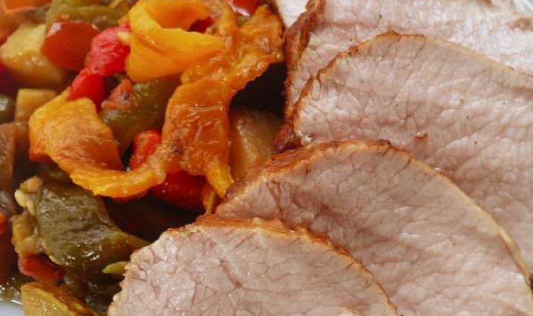 Μοσχάρι ψητό με λαχανικά: απλή μαγειρική μαγεία - Κυρίως Φωτογραφία - Gallery - Video