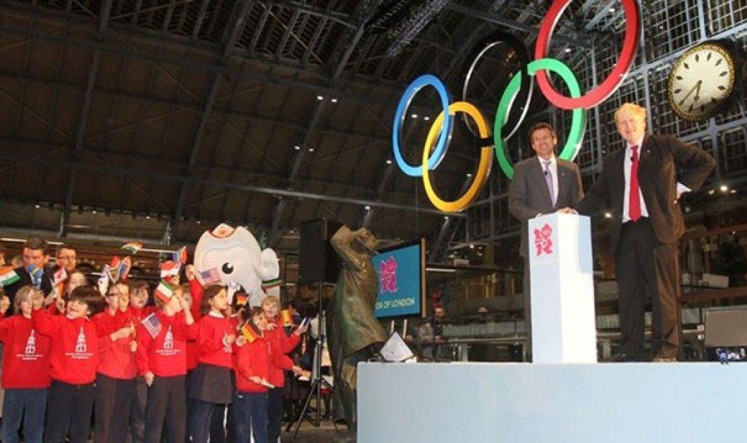 Απλά υπέροχο Slideshow: Οι Ολυμπιακοί κύκλοι σε όλο το Λονδίνο,κρεμαστοί, εικαστικοί - Κυρίως Φωτογραφία - Gallery - Video