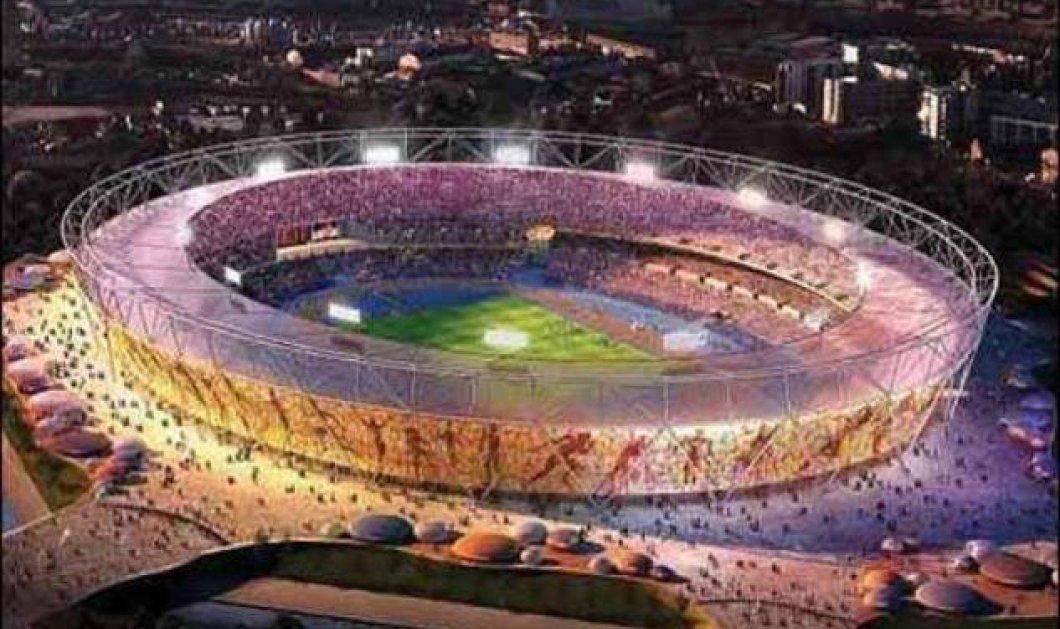 Δείτε πως κατασκευάστηκε το Ολυμπιακό Στάδιο του Λονδίνου! Ένα μοναδικό βίντεο - Κυρίως Φωτογραφία - Gallery - Video