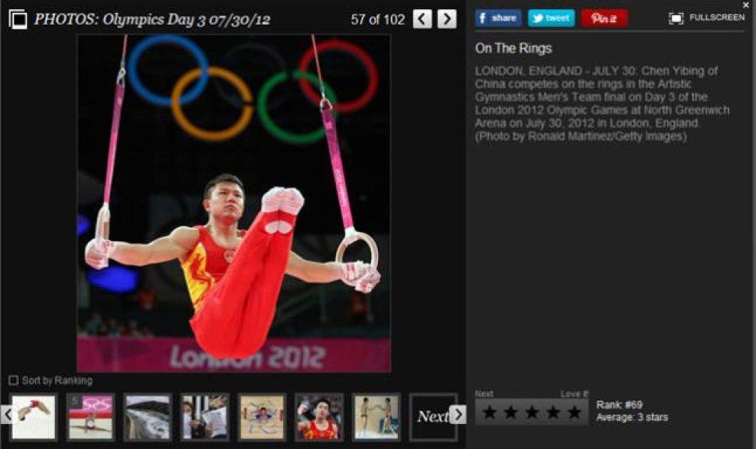 Οι 100 πιο συναρπαστικές στιγμές-φωτό από την 3η μέρα των Ολυμπιακών Αγώνων - Κυρίως Φωτογραφία - Gallery - Video