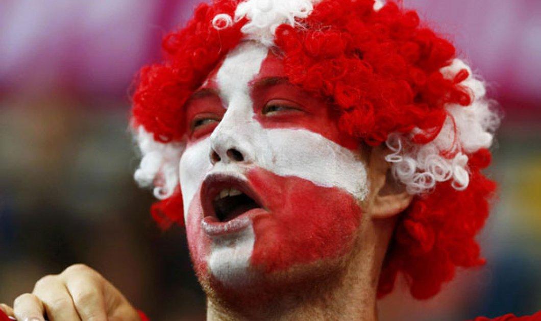 Oι fans των Ολυμπιακών Αγώνων και τα πολύχρωμα πρόσωπά τους - Κυρίως Φωτογραφία - Gallery - Video
