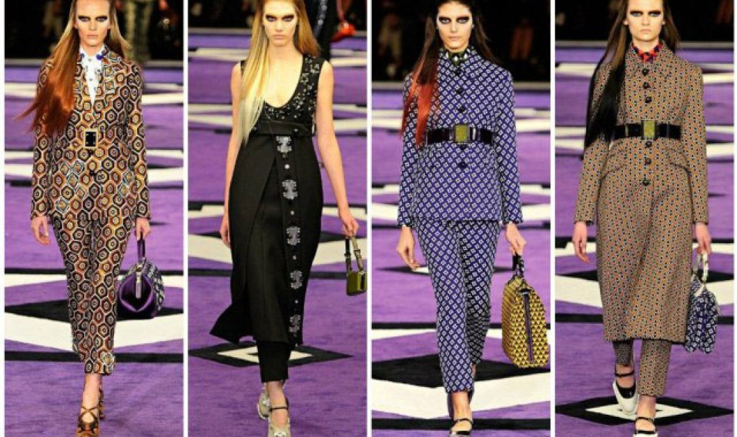 Το φετινό μάθημα Γεωμετρίας της Miuccia Prada στο επίσημο βίντεο με όλο το fashion show - Κυρίως Φωτογραφία - Gallery - Video