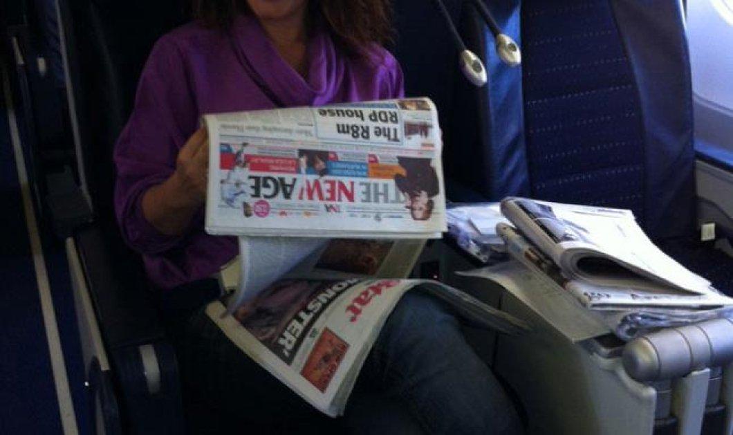 Ναι παρά την ipad-itida που έχω πάθει λατρεύω το διάβασμα της εφημερίδας! - Κυρίως Φωτογραφία - Gallery - Video