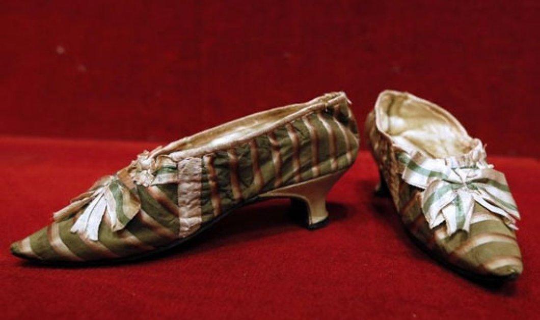 Μια μικρή περουσία πουλήθηκαν οι παντόφλες της Μαρίας Αντουανέττας... Α ρε τρέλα! - Κυρίως Φωτογραφία - Gallery - Video
