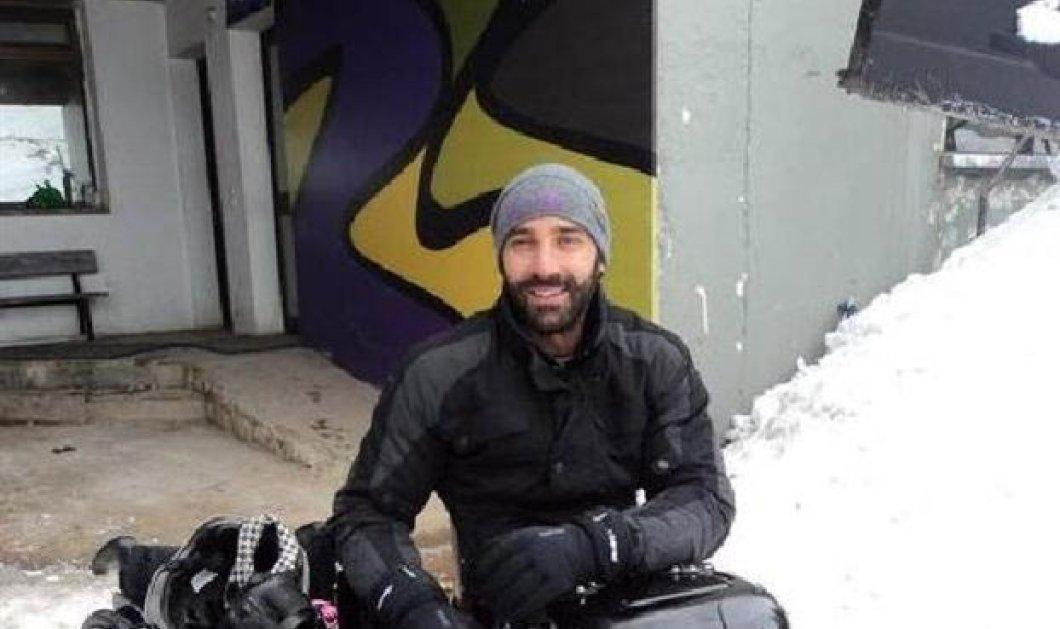 Μάκης Καλαράς: Ο παγκόσμιος πρωταθλητής του seat ski χωρίς πόδια - Κυρίως Φωτογραφία - Gallery - Video