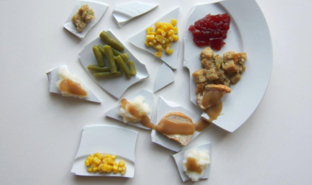 Καταπληκτικό! Δείτε πώς ο Πικάσο, ο Βαν Γκογκ και ο Μοντριάν θα σέρβιραν το Thanksgiving δείπνο τους με τέχνη! (φωτό) - Κυρίως Φωτογραφία - Gallery - Video