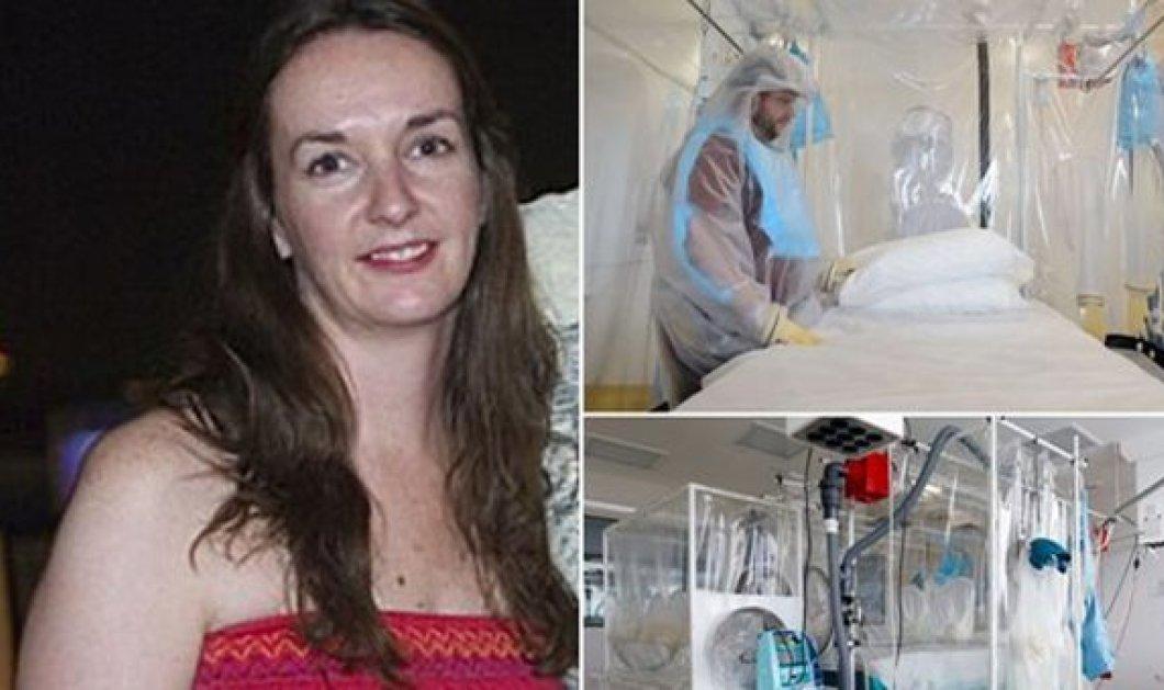 Top Woman η Βρετανίδα νοσοκόμα-ηρωίδα Πολίν Κάφερκεϊ που δέχεται να γίνει «πειραματόζωο» για τη θεραπεία του Έμπολα - Κυρίως Φωτογραφία - Gallery - Video