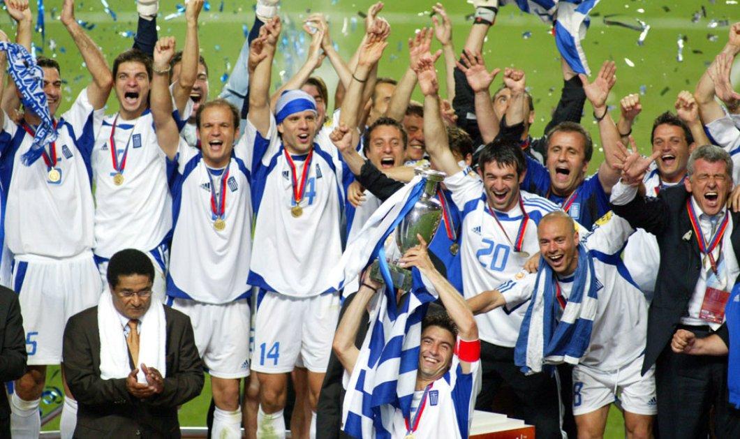 Good News: Η ομάδα του Euro 2004 ξανά στο χορτάρι για φιλανθρωπικό σκοπό! Ανατριχίλα! - Κυρίως Φωτογραφία - Gallery - Video