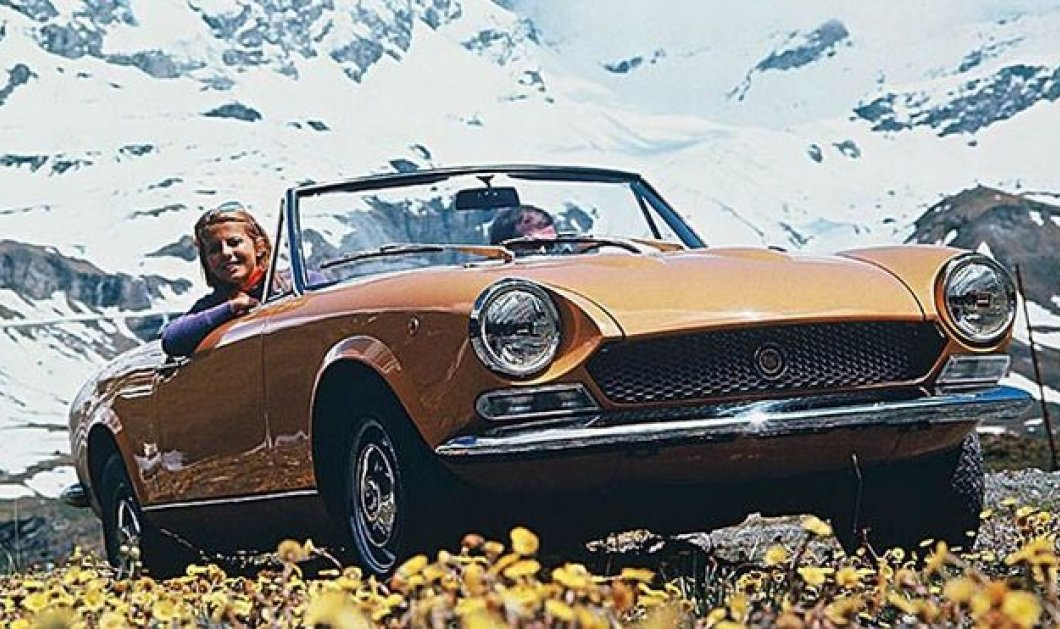 All time classic: Η Fiat ετοιμάζει την επιστροφή του θρυλικού 124 Spider! - Κυρίως Φωτογραφία - Gallery - Video