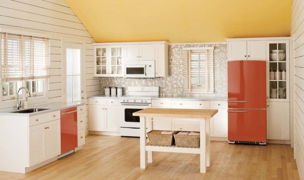 To vintage ψυγείο σε όλα τα χρώματα μεταμορφώνει την κουζίνα σας & την κάνει πιo ενδιαφέρουσα! (φωτό) - Κυρίως Φωτογραφία - Gallery - Video