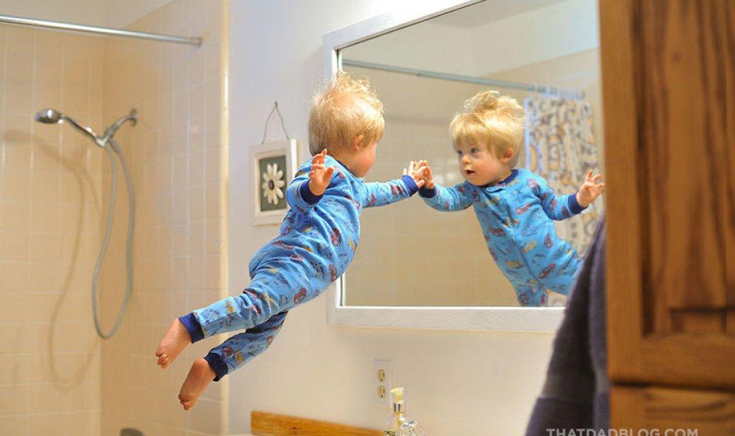 Σ-υ-ν-α-ρ-π-α-σ-τ-ι-κ-ό: Ο υπέροχος μπαμπάς μετατρέπει σε ιπτάμενο ήρωα τον γιο του με Σύνδρομο down  - Κυρίως Φωτογραφία - Gallery - Video