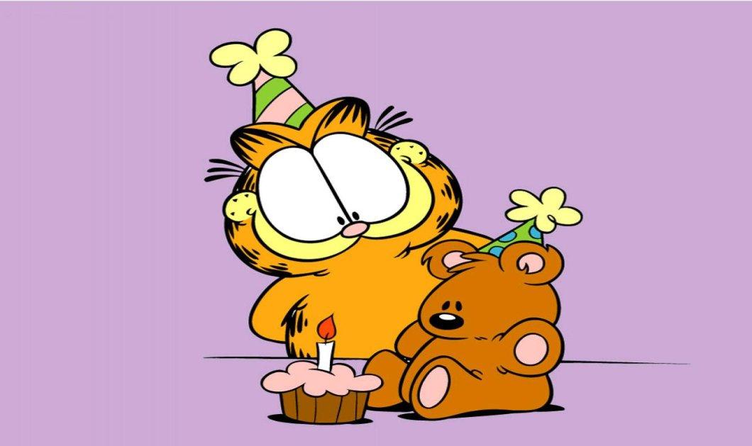 Smile: 12 πράγματα που δεν γνωρίζετε για τον πιο χοντρό γάτο του κόσμου, τον μοναδικό Garfield!  - Κυρίως Φωτογραφία - Gallery - Video
