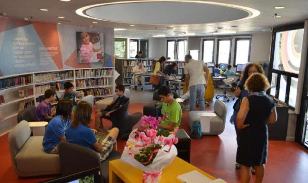 Το απόλυτο Good News: Η Βιβλιοθήκη της Βέροιας καταπλήσσει από τον Bill Gates ως τον τελευταϊο κάτοικο της πόλης! Θαυμάστε την! (φωτό) - Κυρίως Φωτογραφία - Gallery - Video