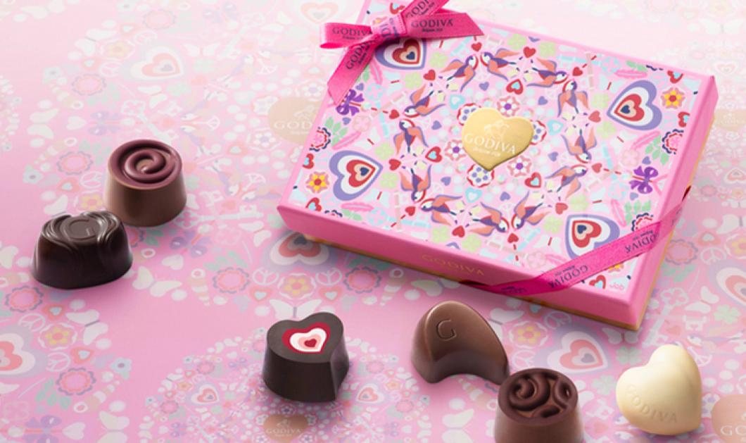Βραβείο design & καινοτομίας παίρνουν τα εντυπωσιακά & πανέμορφα κουτιά με σοκολατάκια Godiva! Ό,τι πρέπει για τον Άγιο Βαλεντίνο! - Κυρίως Φωτογραφία - Gallery - Video