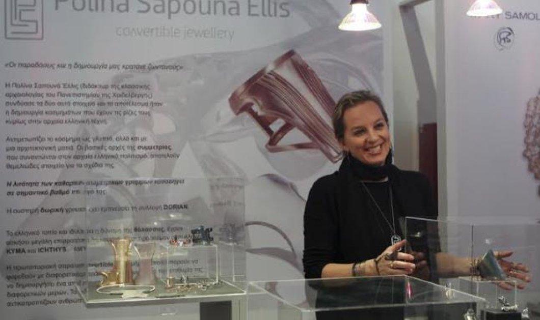 Αποκλειστικό: «A Jewel Made in Greece»: Top Woman η Πολίνα Σαπουνά Έλλις και τα εκπληκτικά κοσμήματα-γλυπτά που δημιουργεί - Κυρίως Φωτογραφία - Gallery - Video