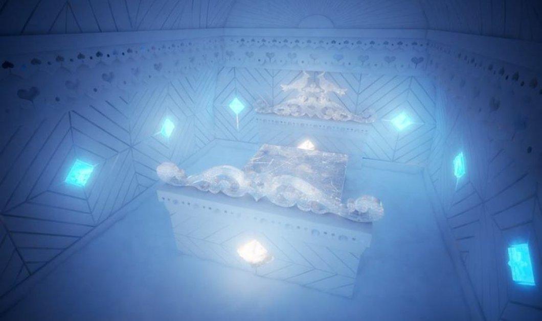 Icehotel: Το εντυπωσιακό ξενοδοχείο φτιαγμένο από πάγο στον Αρκτικό Κύκλο!(Φωτό - Βίντεο) - Κυρίως Φωτογραφία - Gallery - Video