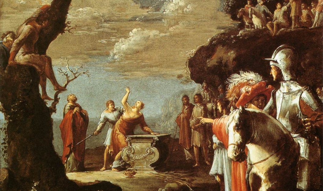 Greek Mythos: Όταν η Ιφιγένεια πήγαινε στην Χαλκίδα πιστεύοντας ότι θα αρραβωνιαστεί τον Αχιλλέα και τελικά βρέθηκε να θυσιάζεται ένα ελάφι για να ξεκινήσει ο Τρωικός πόλεμος! (φωτό-βίντεο)  - Κυρίως Φωτογραφία - Gallery - Video