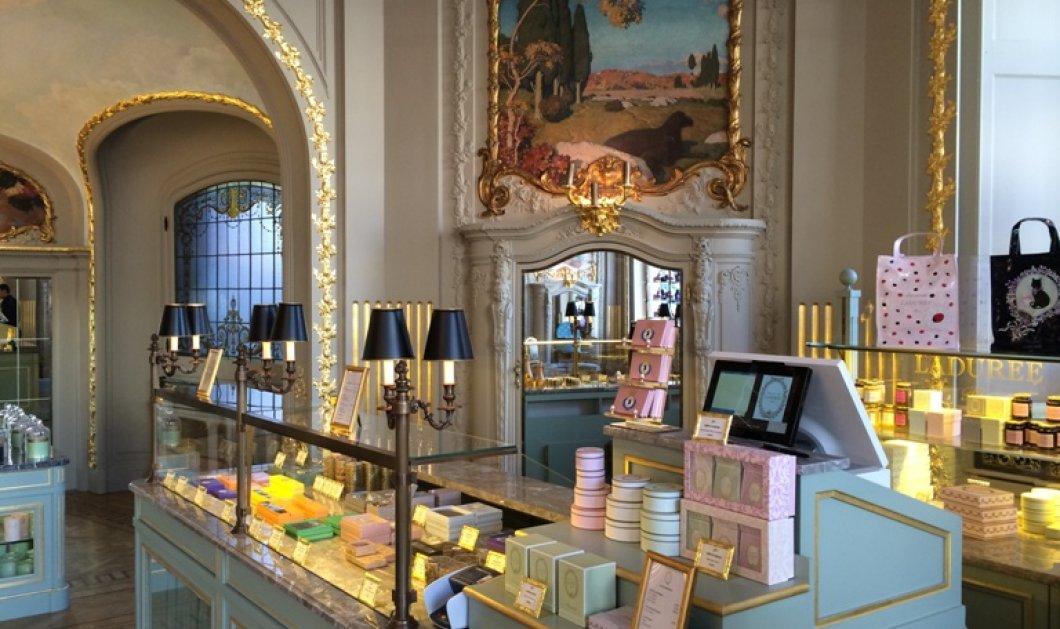 Exclusive: Το νέο βασίλειο των μακαρόν LaDuree: Τα διάσημα γλυκά σε χλιδάτο παλατάκι! (φωτό) - Κυρίως Φωτογραφία - Gallery - Video