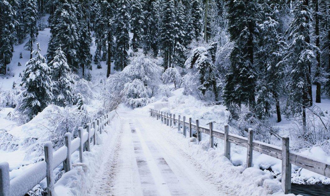 Απόψε ο καιρός αγριεύει με κρύο, χιόνια, καταιγίδες - Η Πρωτοχρονιά θα είναι κατάλευκη! - Κυρίως Φωτογραφία - Gallery - Video