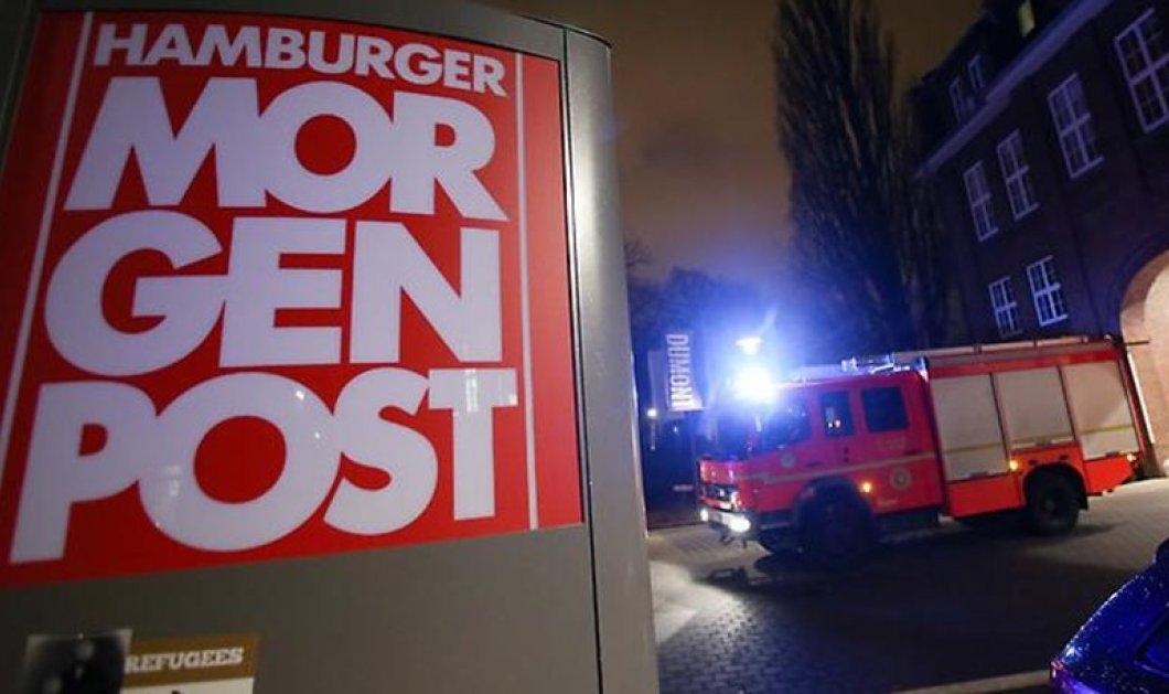 Ο τρόμος του Ισλάμ «σκεπάζει» την Ευρώπη - Ισλαμιστές έκαψαν εφημερίδα στο Αμβούργο επειδή αναδημοσίευσε σκίτσα της Charlie Hebdo - Κυρίως Φωτογραφία - Gallery - Video