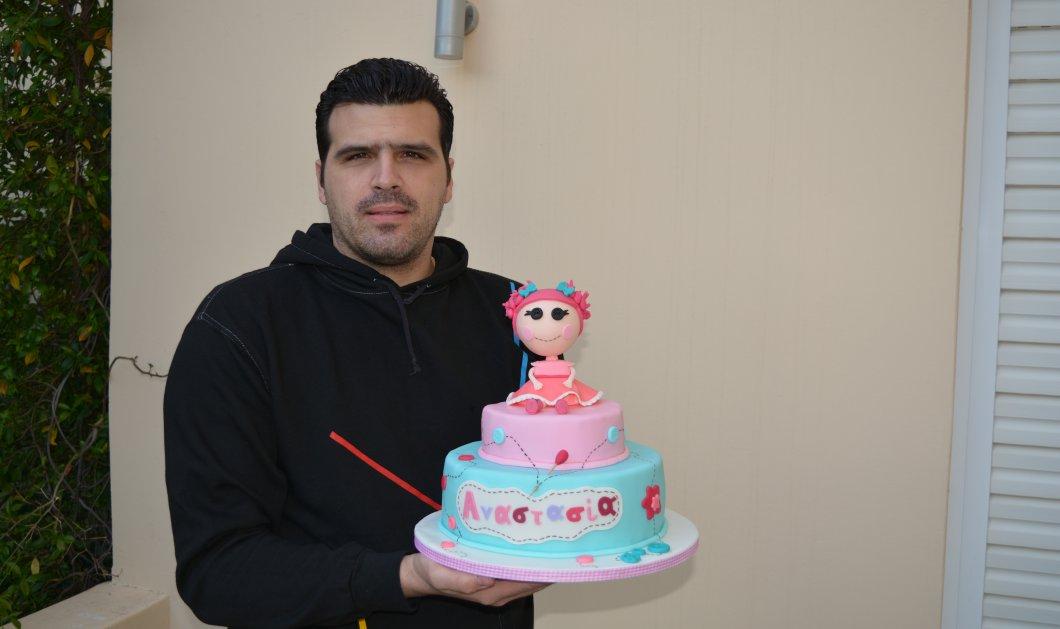 Αποκλ: Mιχαήλ Κυριαλλίδης, ο αυτοδίδακτος pastry chef - Αφιερώνει 12 ώρες για κάθε παιδική τούρτα, ουάου! - Κυρίως Φωτογραφία - Gallery - Video